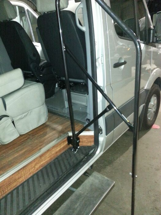 Shuttle Sprinter Van Conversion Houston Dallas San Antonio