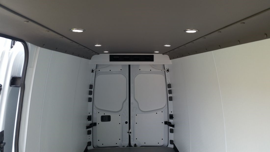 Commercial Walls And Ceiling Conversion Van 1