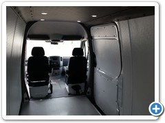 Commercial Walls and Ceiling Conversion Van 2