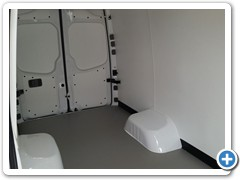 Commercial Walls and Ceiling Conversion Van 4