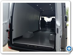 Commercial Walls and Ceiling Conversion Van 6