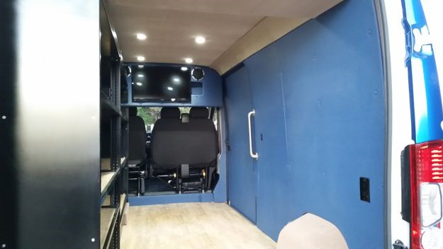 Funeral Display Sprinter Van Conversion Houston Dallas San