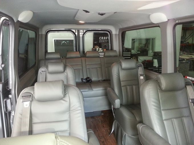 Luxury Sprinter Van Conversion Houston Dallas San Antonio