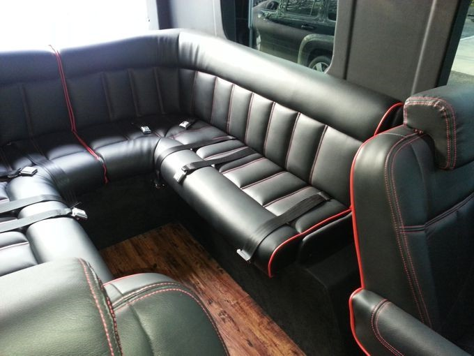 Executive Shuttle Sprinter Van Conversion 15