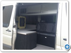 Commercial Interior Sprinter Conversion