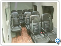 Shuttle Sprinter Van Conversion