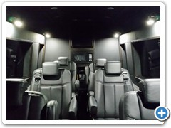 Executive Limo Sprinter Van Conversion #3
