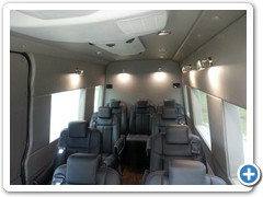 Executive Shuttle Sprinter Van Conversion #2