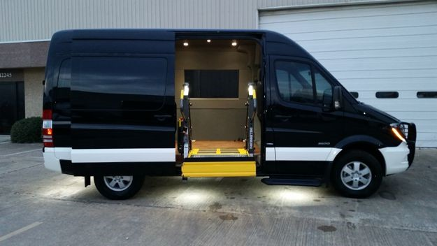 Sprinter Mobility Van Conversion Houston Dallas San Antonio